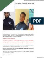 Pescador talareño lleva casi 50 días desaparecidos
