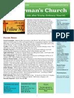 st germans newsletter - 30 august 2020  trinity 12  ot22