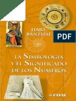La Simbologia y El Significado de Los Numeros - Hajo Banzhaf