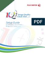 Iq Check Tool -Setup Guide-fiery