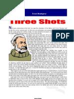 Hemingway-Three Shots