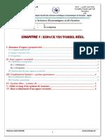 S2-cours1 (espace vectoriel réel)