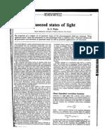 Estados Comprimidos de La Luz.