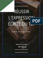 Réussir l'expression écrite du TEF Canada