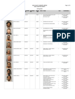 LCSO Daily Booking Report - August 29, 2020