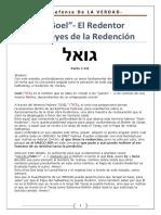 El Goel - El Redentor y Las Leyes de La Redención - Parte I a III