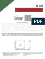 ASTM D638 A TESTING FIXTURE