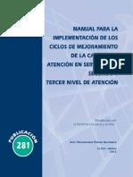 Ciclos de mejora de calidad Bolivia