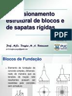 PUC_FUN_10_Dim_Estrutural_Blocos simples e Sapatas