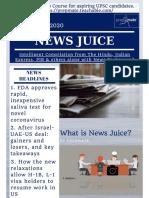 News Juice - 18th August, 2020