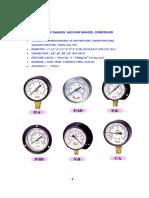 pressure gauge tekland