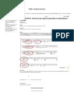 MP - SIGAFIN - Rastreio de registros gerados na liquidação a receber – Central de Atendimento TOTVS