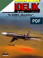 Modelik 1997.06 Tu-22M3 Backfire
