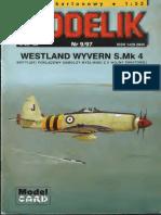 Modelik 1997.09 Westland Wyvern S.mk.4