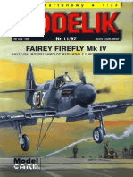 Modelik 1997.11 Fairey Firefly Mk.4