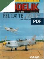 Modelik 2000.05 PZL 130 TB Orlik