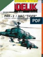 Modelik 2000.06 PAH-2 HAC Tiger