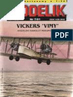 Modelik 2001.07 Vickers Vimy