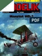 Modelik_2004.14_Hanriot_HD-1