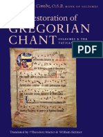 Pierre Combe, Dom Pierre Combe, Theodore Marier - The Restoration of Gregorian Chant_ Solesmes and the Vatican Edition-Catholic University of America Press (2003).pdf