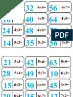 dominó imprimir