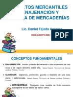4 Contratos Mercantiles de Enajenación y Custodia de Mercaderias