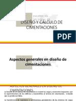 DISEÑO Y CÁLCULO DE CIMENTACIONES