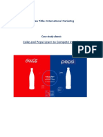 Coke & Pepsi Case Study
