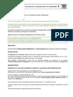 Presiciones para el parcial MODALIDADES de EXAMENES