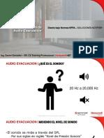 Diseño de Sistemas de Audio Evacuacion bajo Normas NFPA