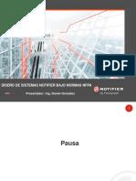 Diseño de sistemas Notifier bajo normas NFPA  Partes I y II