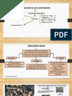 FORMACIÓN DE LOS CONTINENTES 6°.pptx