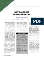 Why BSCs Fail