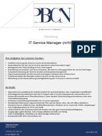 PBCN IT Service Manager