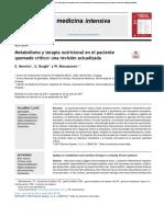 METABOLISMO Y TERAPIA NUTRICIONAL EN QUEMADOS Moreira.pdf