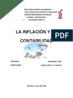 La Inflación Y La Contabilidad