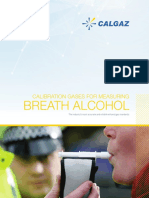 Calgaz Breath Alcohol 2018