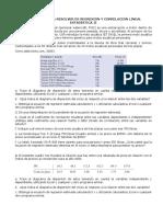 EJERCICIOS PARA RESOLVER DE REGRESIÓN Y CORRELACIÓN LINEAL ESTADÍSTICA II