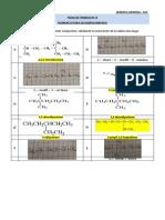 Ejemplos química orgánica