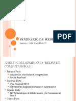 Seminario de  Redes y sistemas de informacion Primera Parte