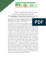 Volume, teor de brix° e concentração de açúcares no néctar de Merremia aegyptia em Quixeramobim-CE