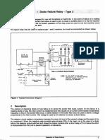 Diode Failure Relay Manual