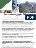 Entrevista con Justin Gilbertson ESPAÑOL