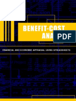 Campbel. 2003. Benefit-Cost Analysis - Financial and Economic Appraisal using Spreadsheets