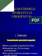 Traumatismele Aparatului Urogenital