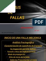 ANÁLISIS de FALLAS - RCA