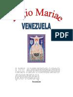 LEGION DE MARIA NOVENA 70 AÑOS. DEFINITIVA