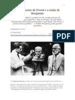 As traduções de Freud e a saída de Benjamin (Ernani Chaves)