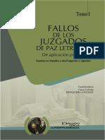 FALLOS DE LOS JUZGADOS DE PAZ LETRADOS I - CLARA MOSQUERA