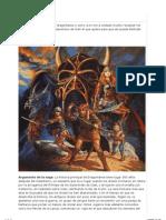 - Libros Dragonlance - Cronologia de lectura